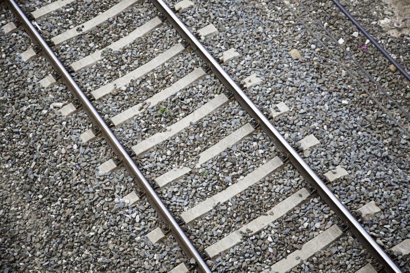 Itinerari del treno immagine stock