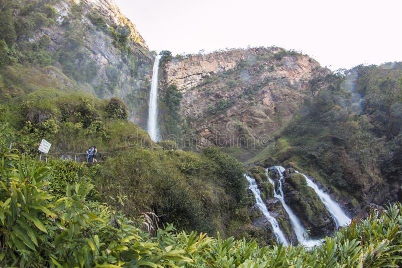 Itiquira Falls - Formosa/GO. Brazil royalty free stock photos