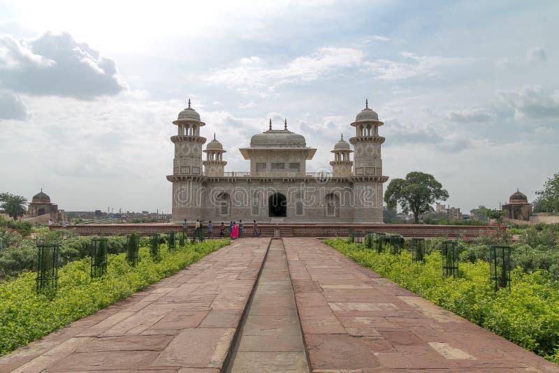 Itmad-ud-Daula, igualmente conhecido como o bebê Taj imagem de stock royalty free