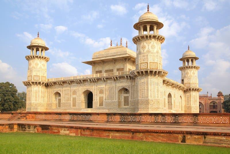 Itmad-ud-Daulas Grab. Agra, Indien lizenzfreies stockbild