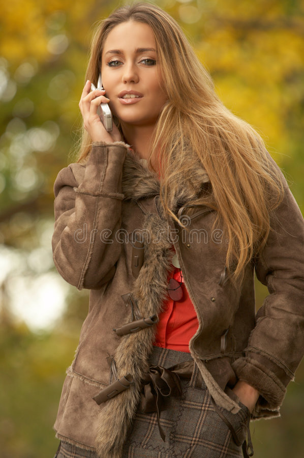 Download Its Autumn! stock image. Image of jeans, happiness, lifestyle - 6387605