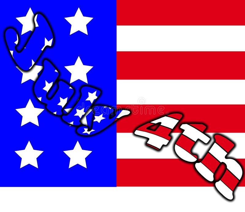 Download Its July 4th stock illustration. Illustration of nation - 20124357