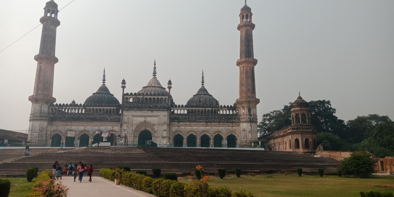Lucknow is the most famous of india royalty free stock photos