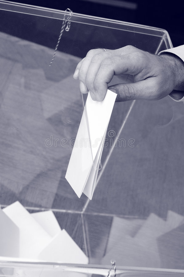 Its time for elections stock images