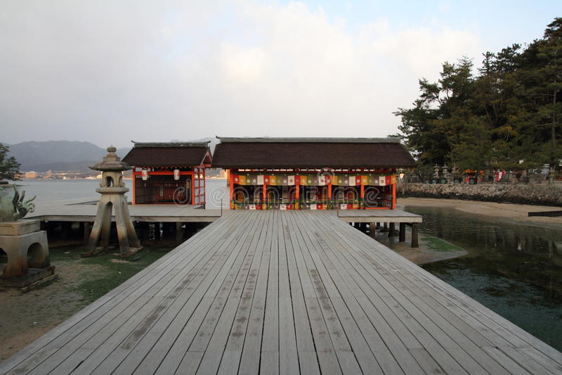Itsukushima Świątynia obrazy royalty free