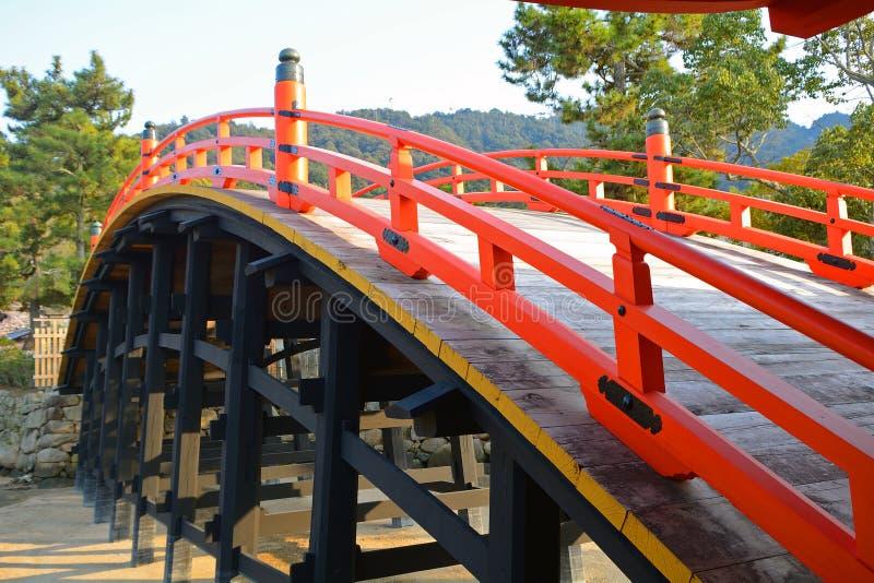Itsukushima Schrein, Miyajima, Japan lizenzfreies stockbild