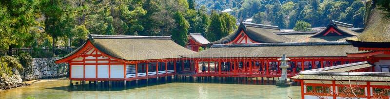 Itsukushima Shinto Shrine, Miyajima, Japan stock image