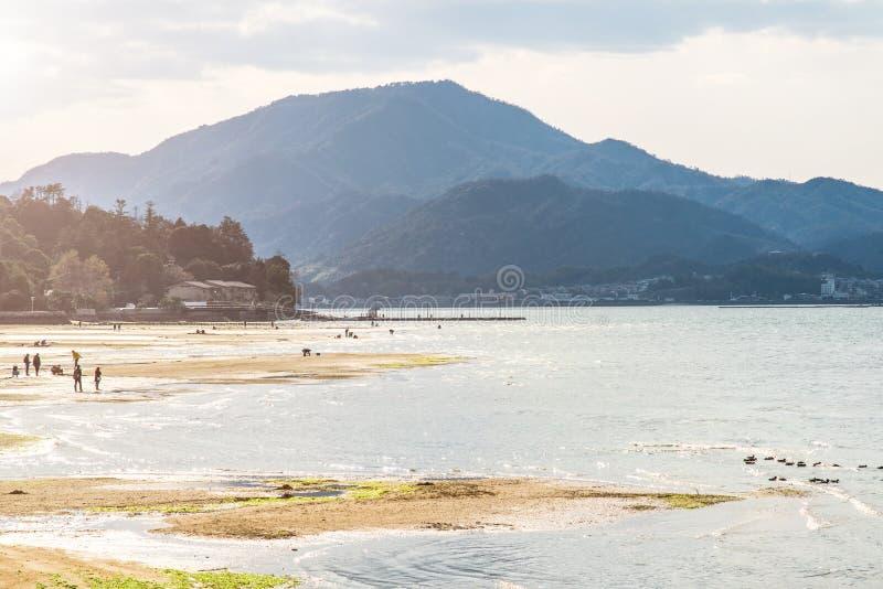 Itsukushima shrine, Miyajima island, Japan.  stock photos