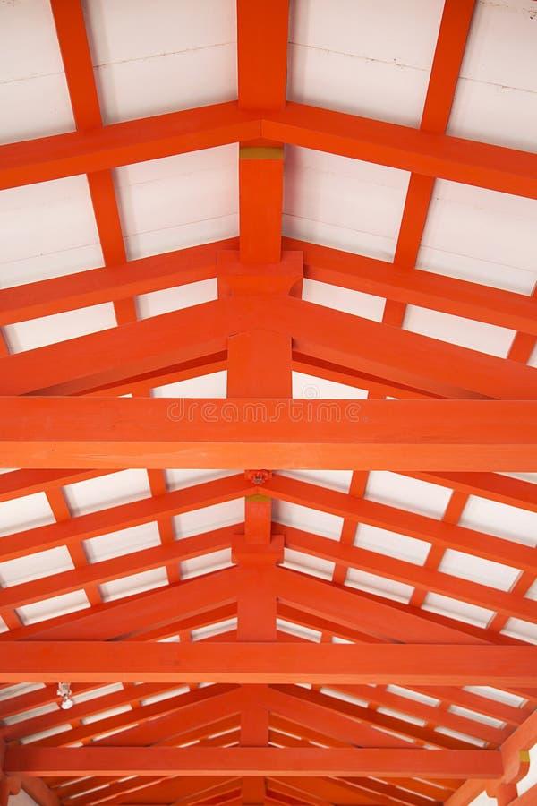 Itsukushima Shrine at Miyajima island, Japan. Detail of Itsukushima Shrine at Miyajima island, Japan stock photos