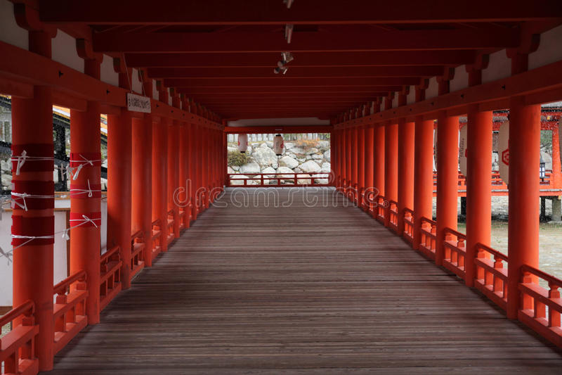 Itsukushima Shrine stock photos