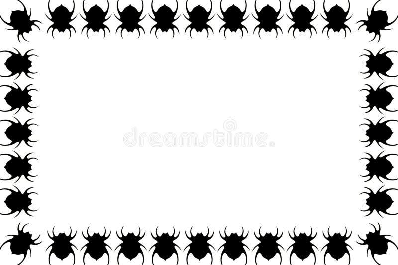 Itsy Bitsy Spinnen stock abbildung