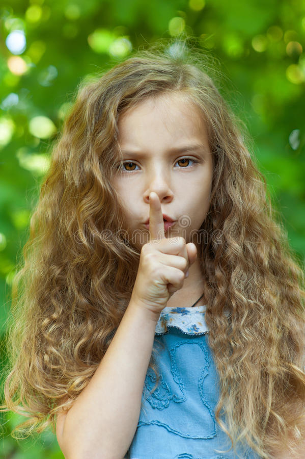 Download Ittle Girl With Curly Hair Royalty Free Stock Photo - Image: 26891535