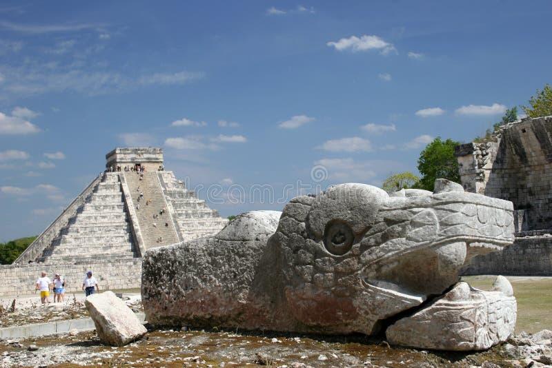 Itza de Chichen, México imágenes de archivo libres de regalías