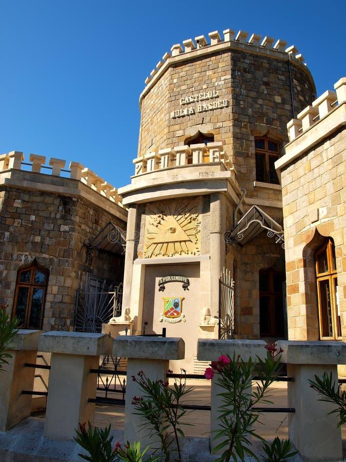 Iulia Hasdeu Memorial Castle fotos de archivo