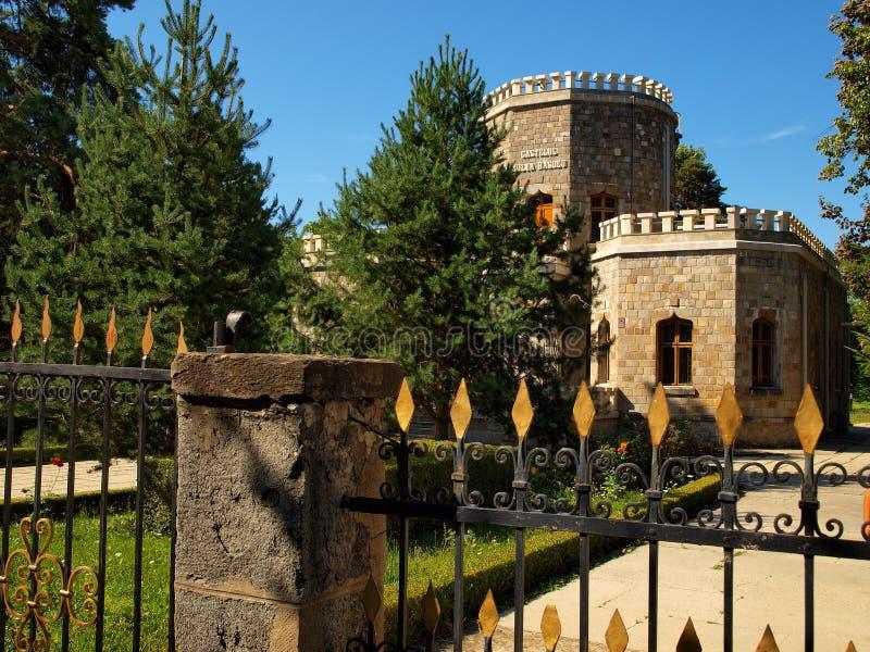 Iulia Hasdeu Memorial Castle royalty-vrije stock fotografie