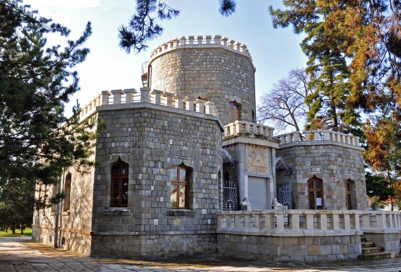 Iulia hasdeu Schloss nahe Bucharest lizenzfreies stockbild
