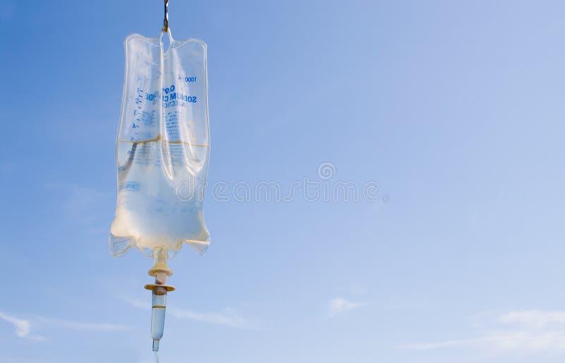 IV袋子 免版税库存图片