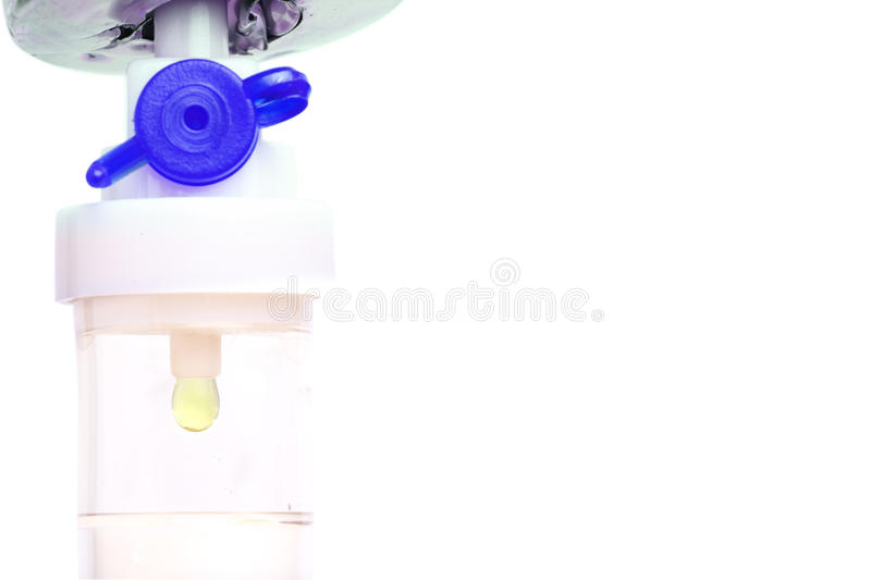 Iv Drip. isolated. Iv Drip and place for your text. isolated stock photo