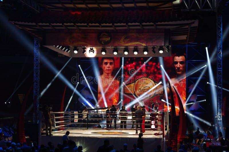 IV lutas internacionais somente 1 fotografia de stock