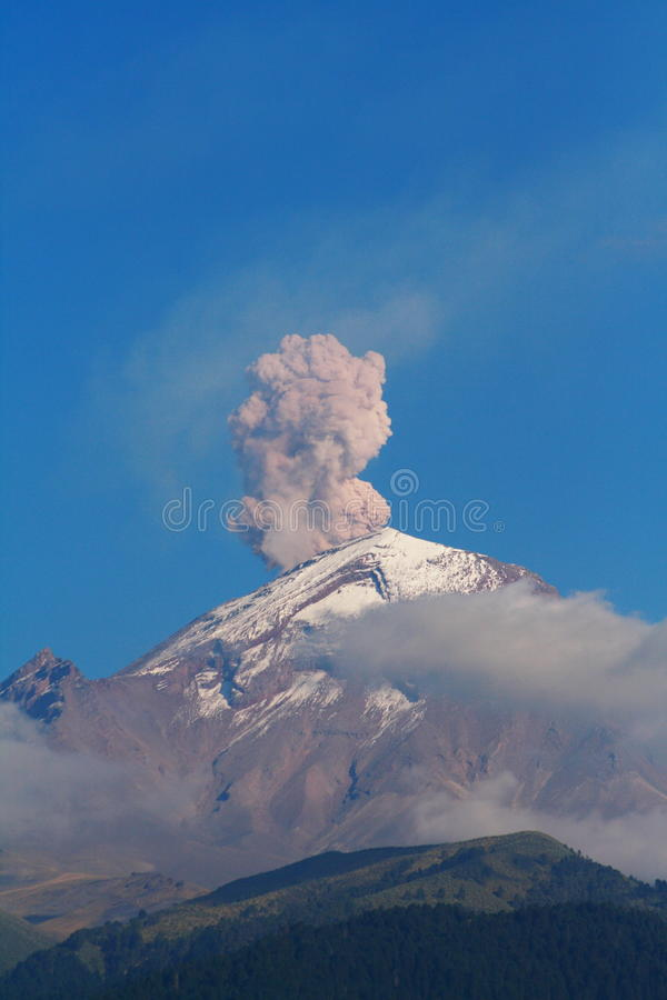 iv popocatepetl obrazy royalty free