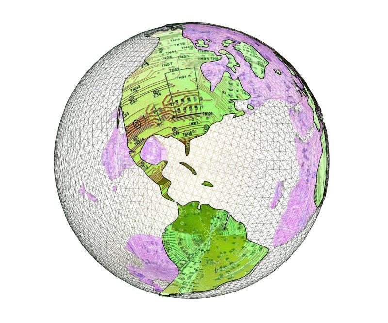 IV technoplanet ελεύθερη απεικόνιση δικαιώματος