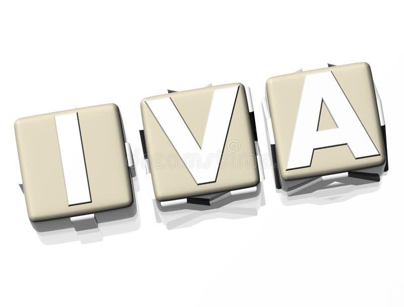 IVA illustrazione di stock