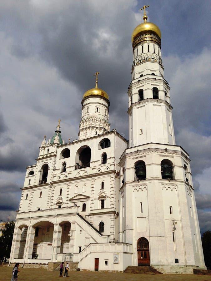 Ivan ο μεγάλος κουδούνι-πύργος σύνθετος στοκ φωτογραφία