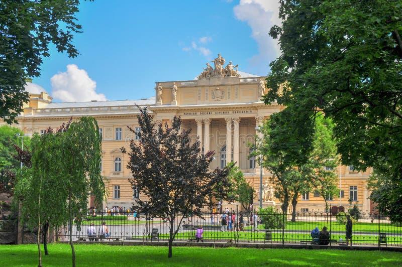 Ivan Franko National University - Lviv, Ucrania fotos de archivo libres de regalías