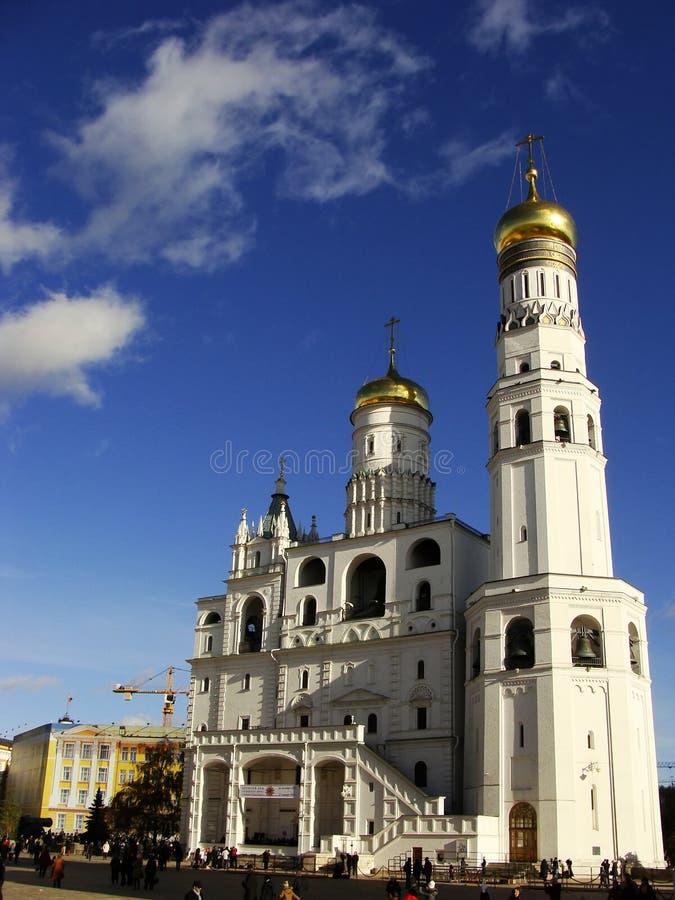 Ivan il grande campanile, Cremlino di Mosca, Russia fotografia stock