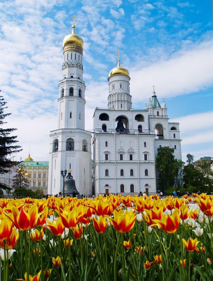 Ivan o grande complexo da Sino-Torre, Moscovo foto de stock royalty free