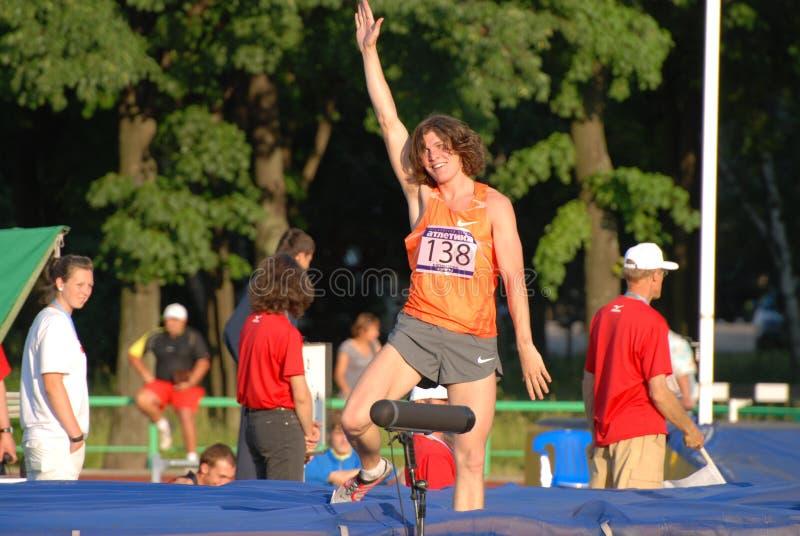 Ivan Ukhov, high jump royalty free stock photos