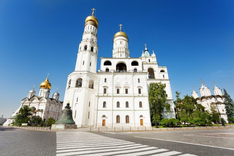 Ivan Wielki Dzwonkowy wierza blisko przejścia obrazy stock