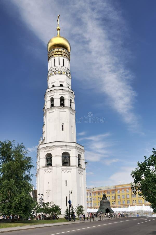 Ivan Wielki wierza Dotyka nieba zdjęcia stock