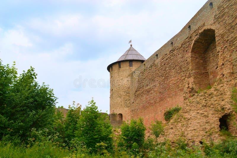 Ivangorod Fortress Royalty Free Stock Photography
