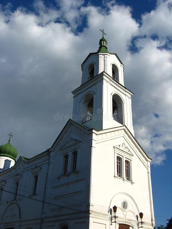 Ivanivska kościół w Priluky w Priluky miasteczku obrazy stock