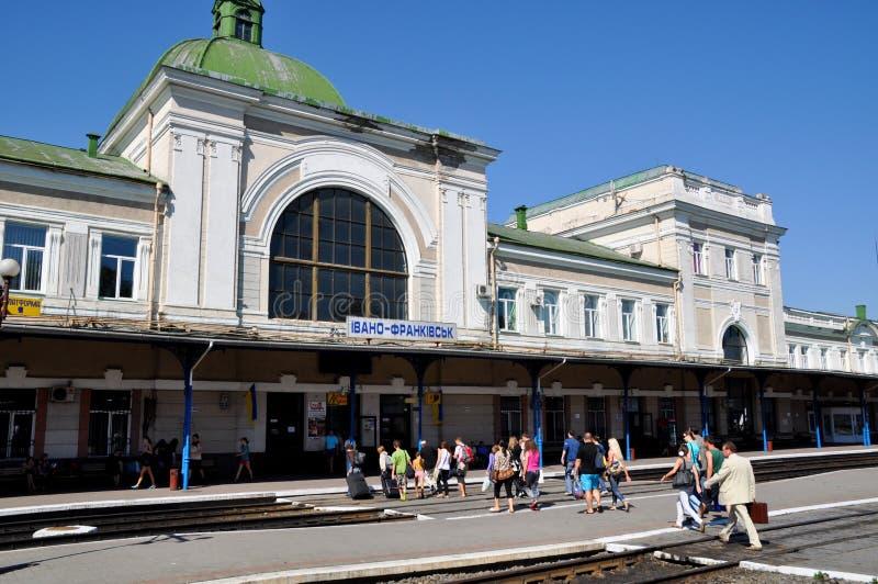 Ivano-Frankivsk Trainstation stock image
