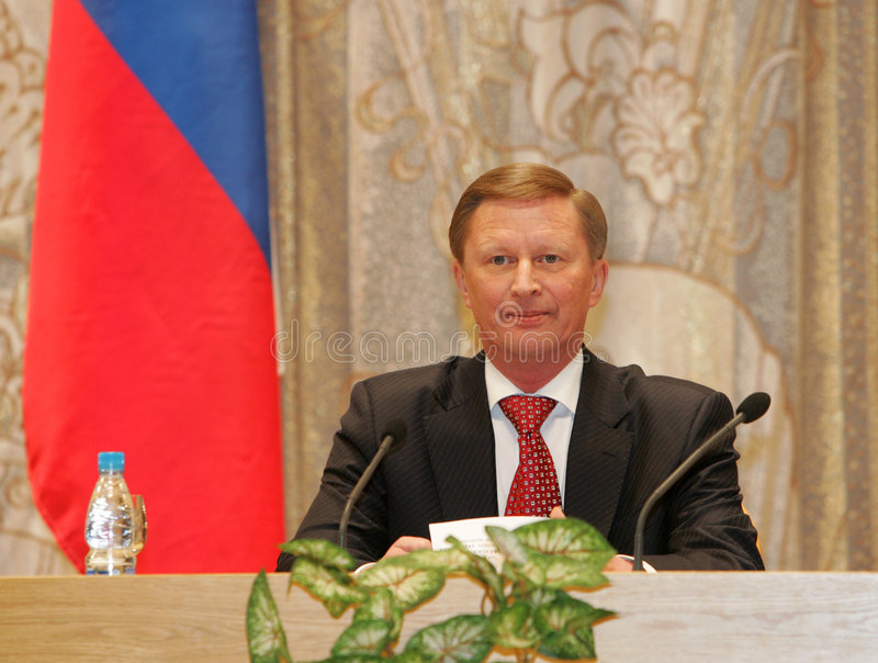 Download Ivanov, Russia's First Deputy Prime Minister Editorial Stock Photo - Image: 4821233