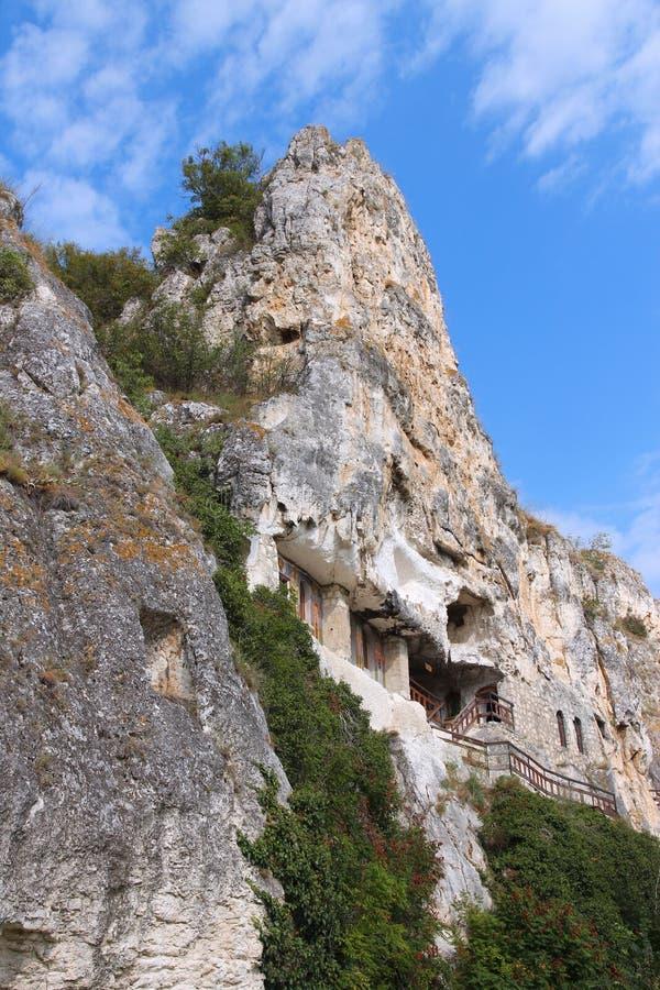 Ivanovo, Bulgaria. Bulgaria - rock-hewn churches of Ivanovo. Famous UNESCO World Heritage Site royalty free stock photos