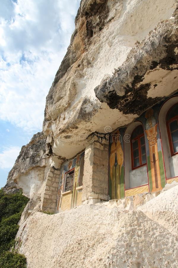 Ivanovo, Bulgaria. Bulgaria - rock-hewn churches of Ivanovo. Famous UNESCO World Heritage Site stock image