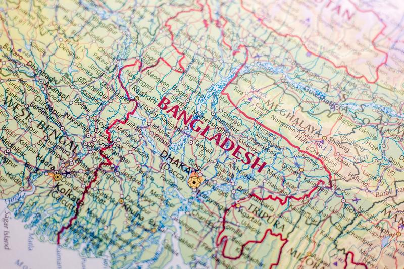 Bangladesh Map Stock Images - Download 213 Royalty Free Photos