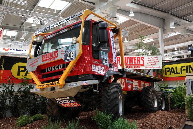 IVECO 500 Offroad Truck Editorial Photo