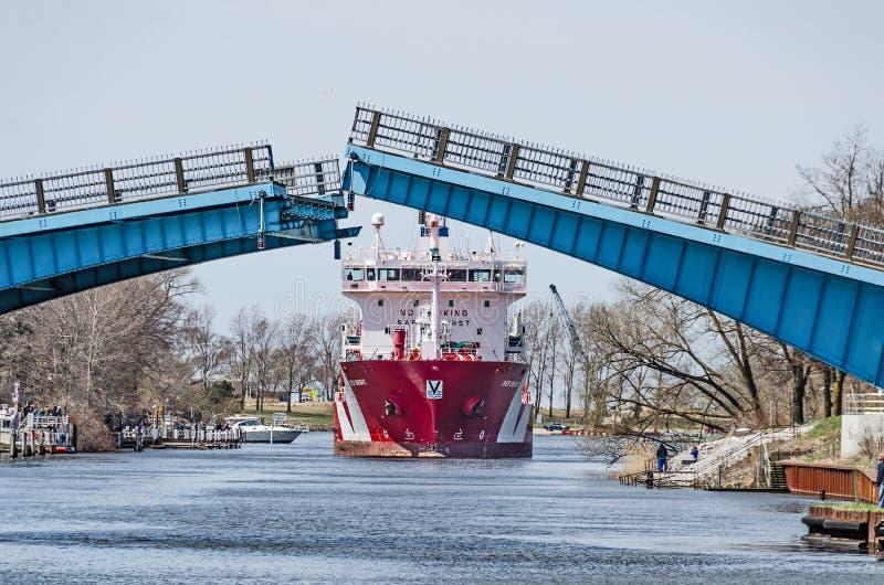 Iver Bright Tanker photo stock