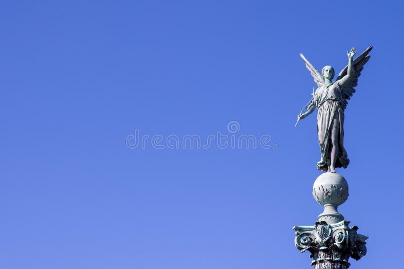 Iver Huitfeldt pomnik w Langelinie parku, Kopenhaga fotografia royalty free