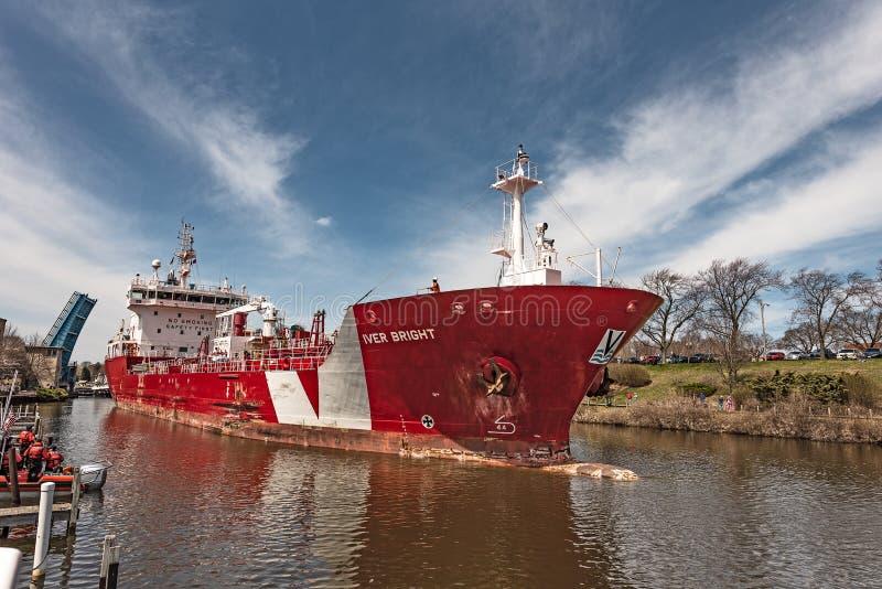 Iver Jaskrawy tankowiec zdjęcie royalty free