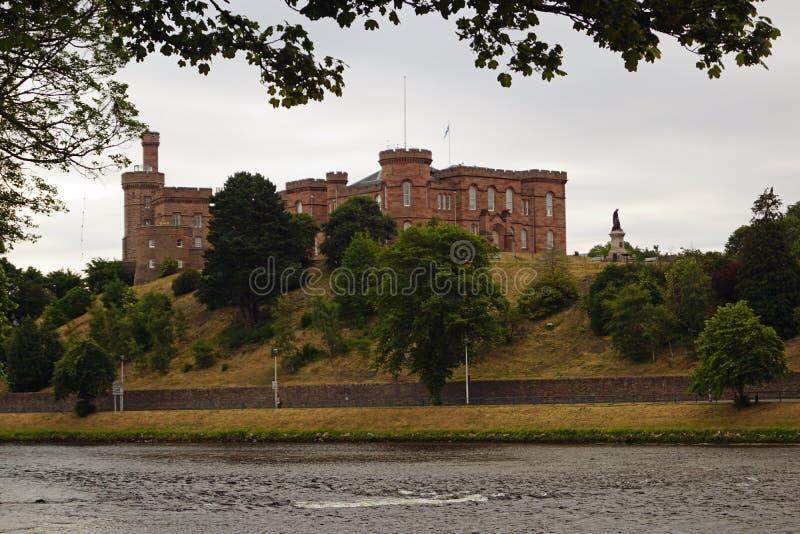 Iverness slott royaltyfri fotografi