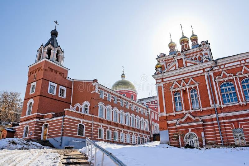 iversky klosterrussia samara royaltyfri foto