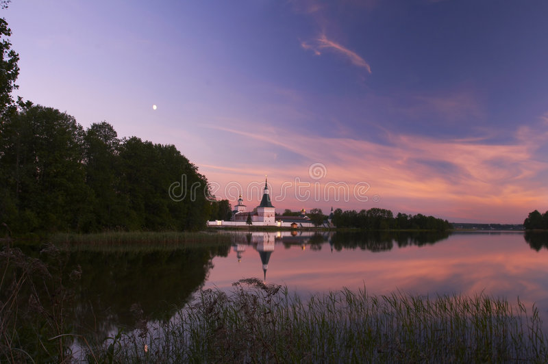 Iversky monastery royalty free stock photography