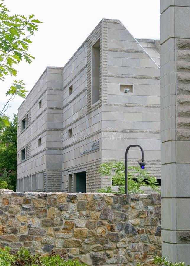 Ives Hall, de Kant van Torenrd stock fotografie