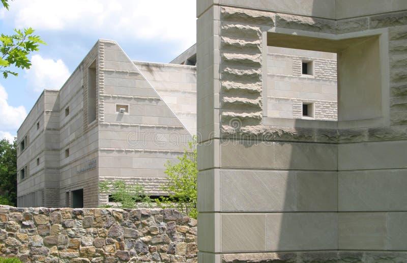 Ives Hall op Cornell Campus is een Geval van Onverwacht royalty-vrije stock afbeeldingen