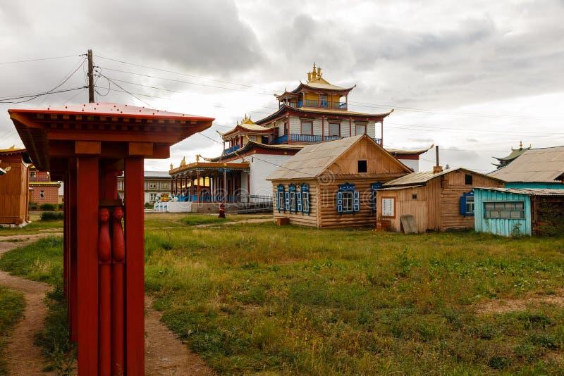 Ivolginsky datsan, Buryatia Rosja fotografia royalty free